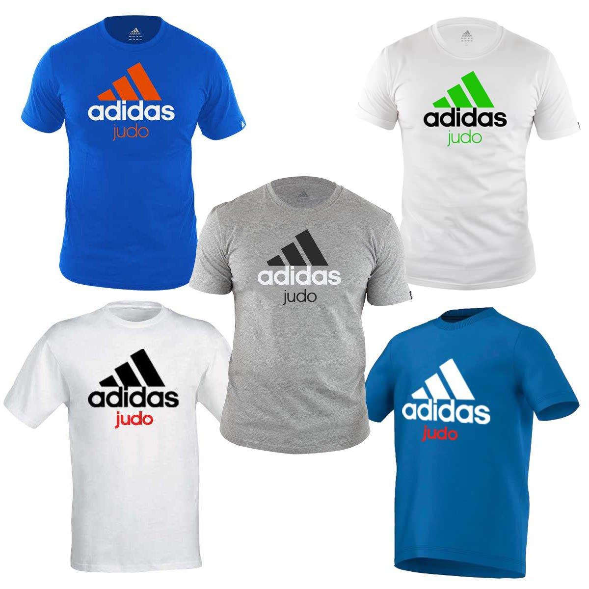 amp; Sports Amazon Shirt T uk Adidas co Judo Outdoors qZ6Zt0