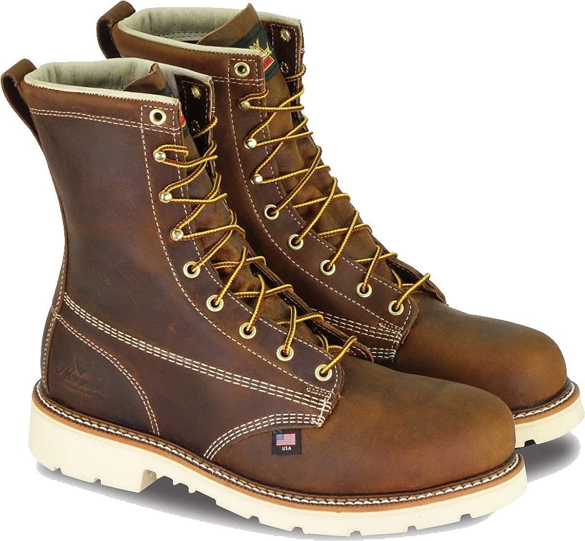 804 - 4379 Thorogood Botas de Seguridad para Hombre - marrón: Amazon.es: Zapatos y complementos