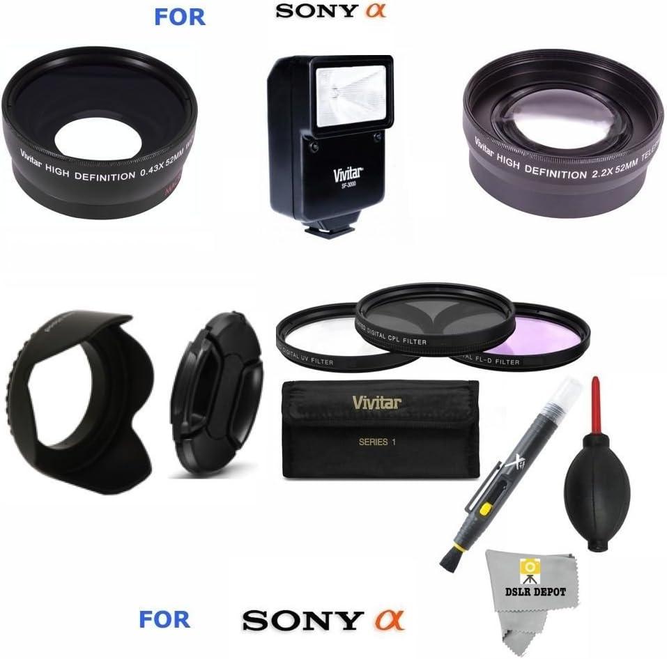 40.5mm Tapa de Objetivo Cubierta Snap-On para Sony A5100 A6000-a6500 16-50mm