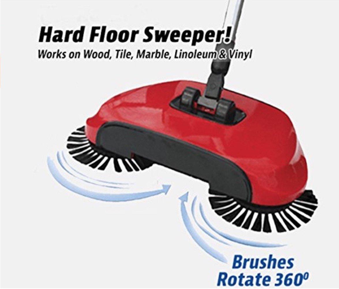 Amazon Swiftedge Lightweight Rotating Hard Floor Mop Dust