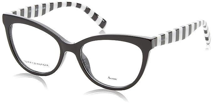 Amazon.com: anteojos Tommy Hilfiger TH 1481 0807 negro: Clothing