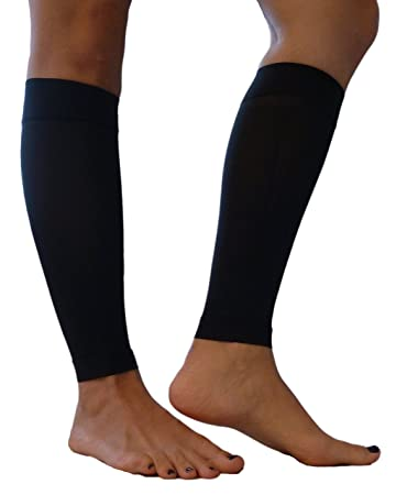 5fa6e62434 Maternity Compression Leg Sleeves/Footless Socks Microfiber (18-24 mmHg)  MADE IN