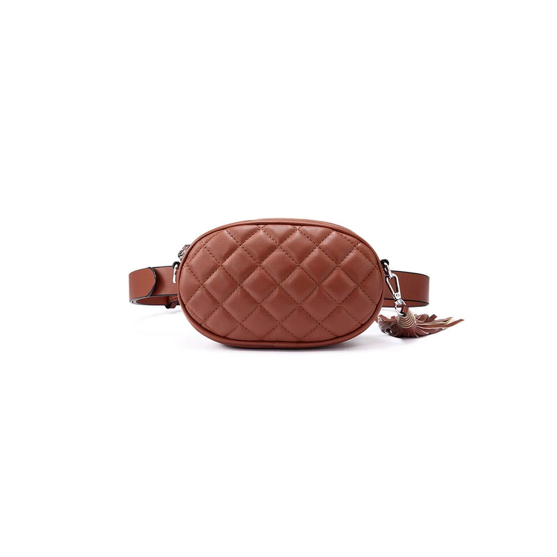 Women Waist Packs Belt Bag Shoulder Crossbody Bag Waist Mini For Women,Apricot