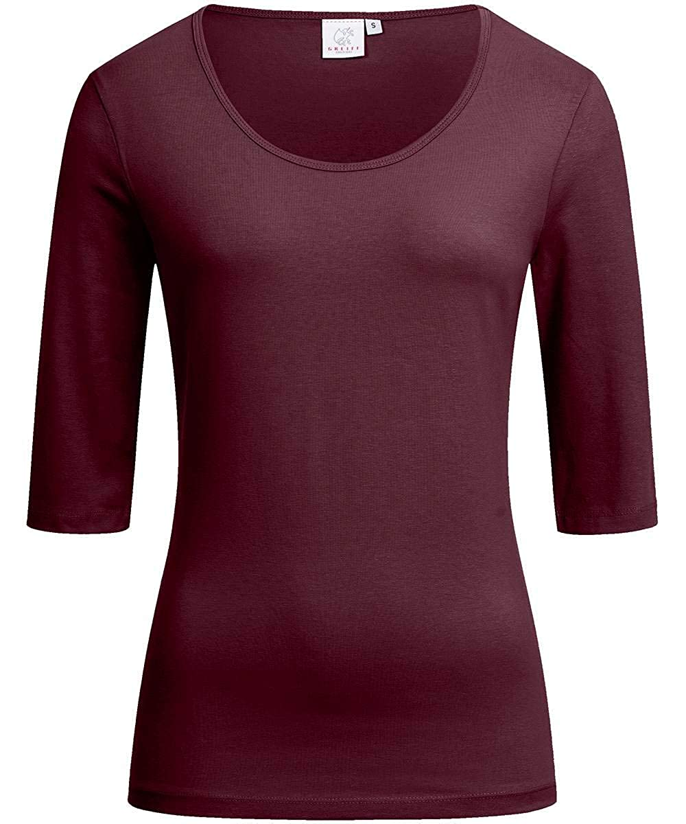 6680 Stretch GREIFF Damen-Shirt Basic Regular Fit mehrere Farben