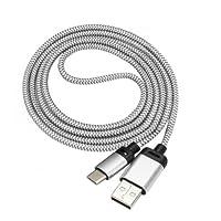 Cabo USB Tipo C - Samsung Galaxy S8 / Moto Z / Zenfone 3 - 1 Metro - 1 unidade