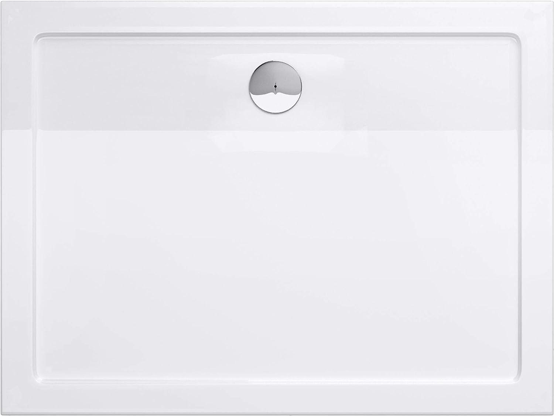 Receveur de douche bac a douche blanc acrilique Faro02 100x120x4
