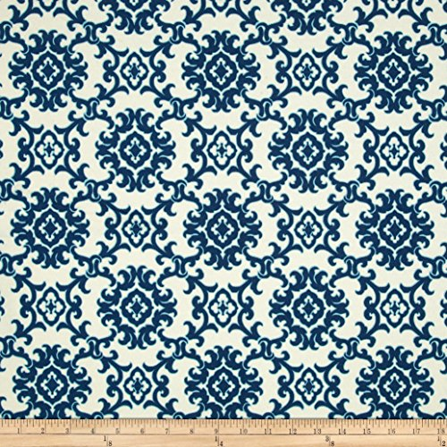 Tommy Bahama Indoor/Outdoor Medallion Isle Riptide Fabric By The Yard (Waverly Outdoor Cushions)