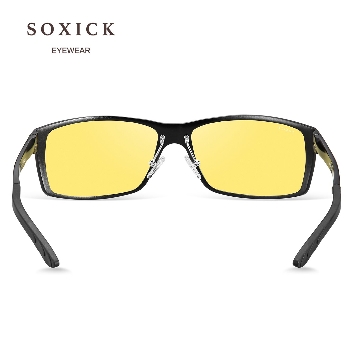 SOXICK 2018 New Style Night Driving Glasses - Anti-glare HD Vision - Safety Night Vision glasses for Men and Women (3) by SOXICK (Image #6)