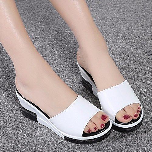 Plage YUCH de Les white Sable Chaussons Et de Chaussures Les Occasionnels 1Y41wq