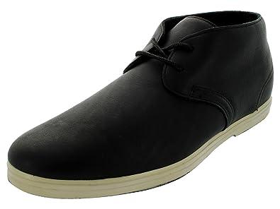 Vans Howell Savannah Casual Shoes Black Bone Men Vokw5mv Uk6 Black