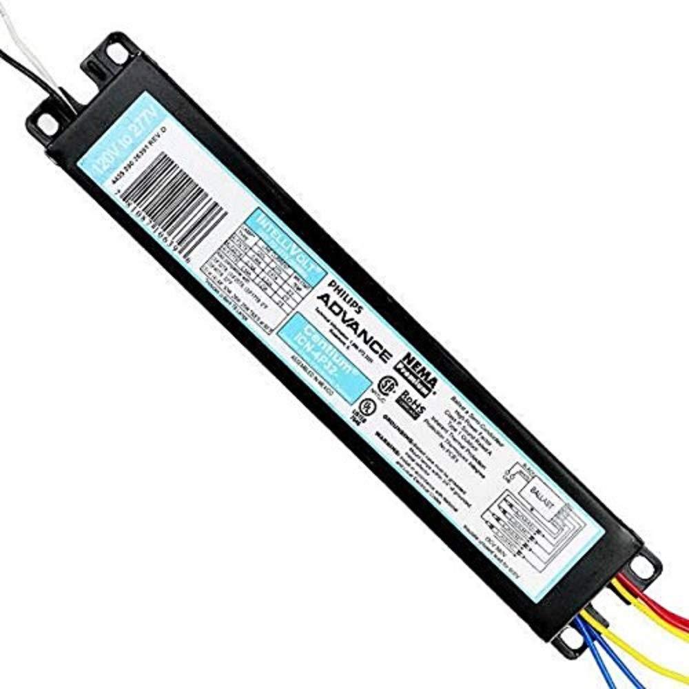 amazon com: philips lighting icn4p32n 3/4f17-f32 elec ballast: home  improvement