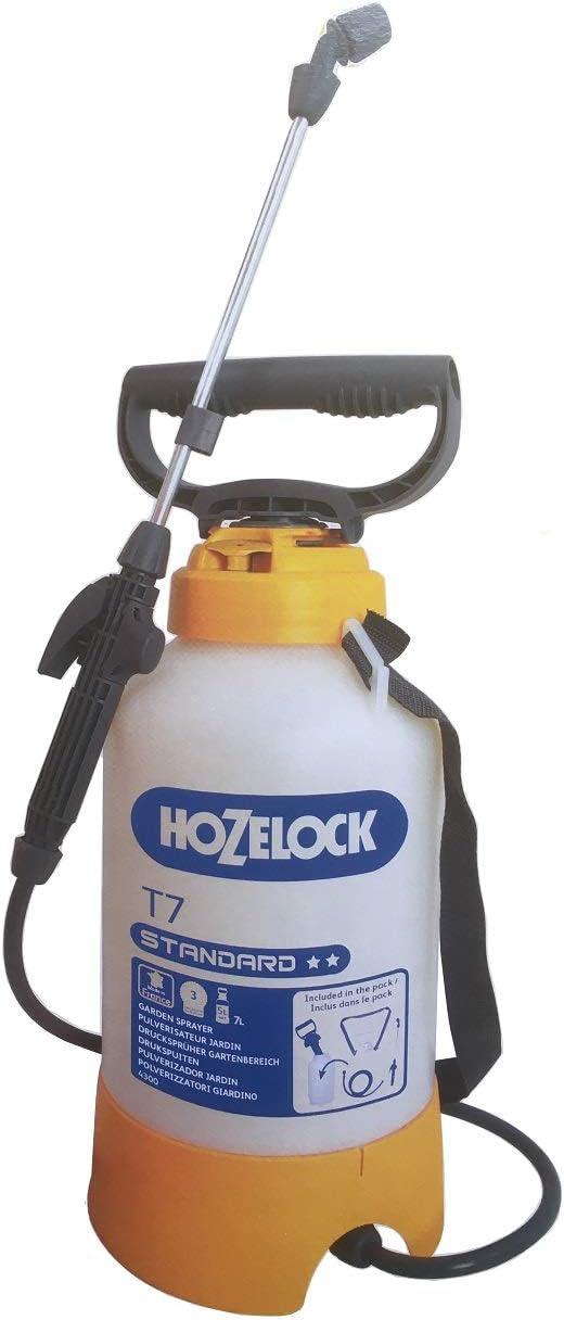 Pulverizador 5L a presión para Jardín T7 Standard 4300 1240, Fácil Aplicación de Tratamientos Fitosanitarios, Sulfates, Cuidado de Plantas y Cultivos en Jardines y Huertos