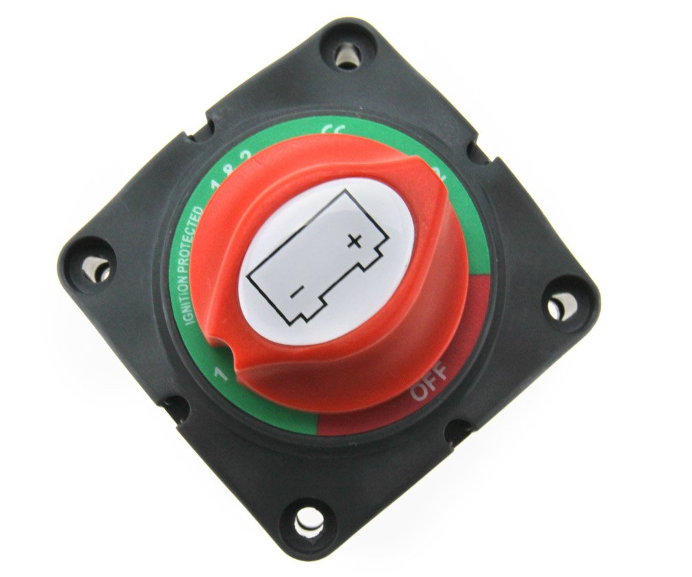 12V//24V Batteriehauptschalter Batterie Trennschalter Aufbauschalter Umschalter