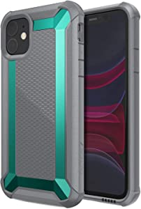 Raptic Tactical, Compatible with Apple iPhone 11 (Formerly X-Doria Tactical) - Military Grade Drop Tested, Anodized Aluminum, TPU, and Polycarbonate Protective Case for Apple iPhone 11, Teal