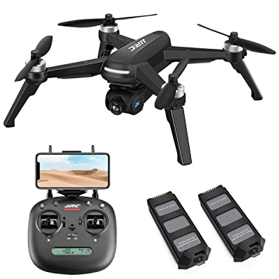 Brushless Drone with 2K FHD Camera Live Video,JJRC X5 40mins(20+20) Long Flight Time Quadcopter,5G WiFi FPV Drone for Adults,GPS Return Home,Follow Me,Long Control Range(Black): Toys & Games