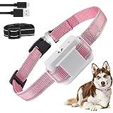 Dog Bark Collar, Anti-Bark Dog Spray Bark Collar with Auto-Barking Detection, No Shock Adjustable Sensitivity, Humane…