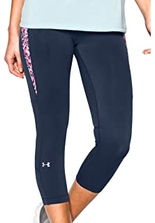 Amazon.com: Under Armour Women's HeatGear Armour Capri: Sports ...