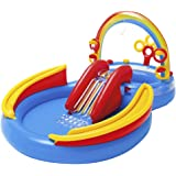 Intex 57453 - Playground Arcobaleno, 297 x 193 x 135 cm, Blu/Rosso/Giallo