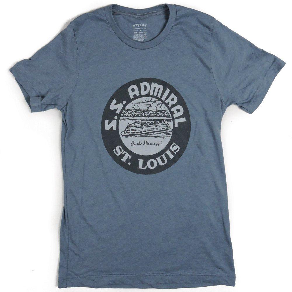 S.S. Admiral tee - St. Louis Bygone Brand Men's Shortsleeve T-shirt