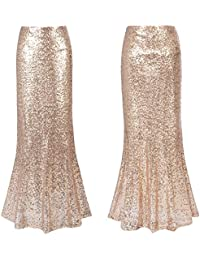 Amazon.com: Gold - Skirts / Clothing: Clothing, Shoes & Jewelry