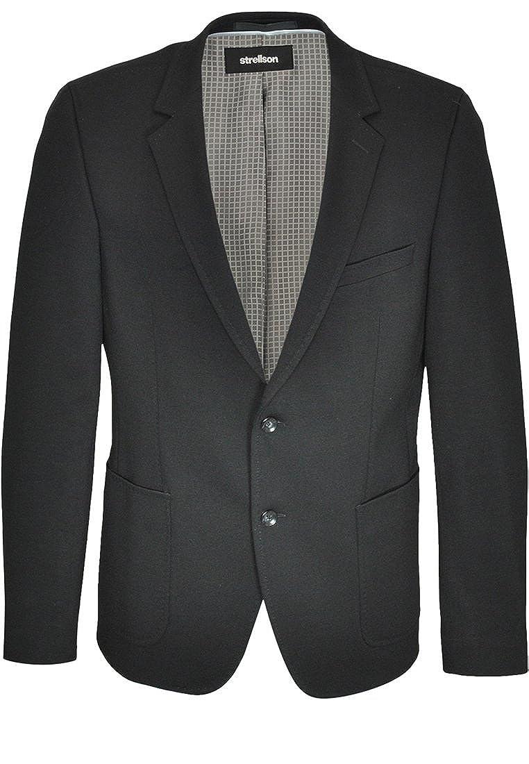 Strellson Premium Herren Sakko Jonez E 48, schwarz: Amazon