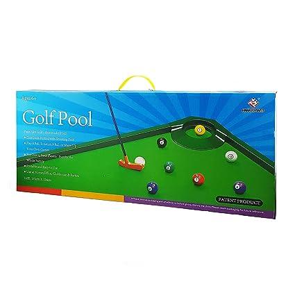 Amazon.com: Tradeopia Corp. Juego de piscina de golf para ...