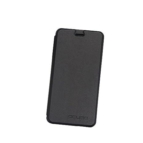 Guran® Funda de Cuero Para Ulefone Metal Smartphone con Función de Soporte Flip Case Cover--negro