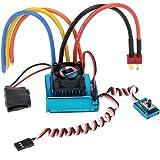 GoolRC 120A センサー ブラシレス スピードコントローラー 速度制御器 ESC 1/8 1/10 1/12 カー クローラ用【並行輸入品】