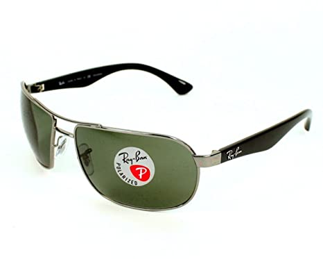 RAY BAN Sunglasses RB 3492 004 58 Gunmetal 62MM