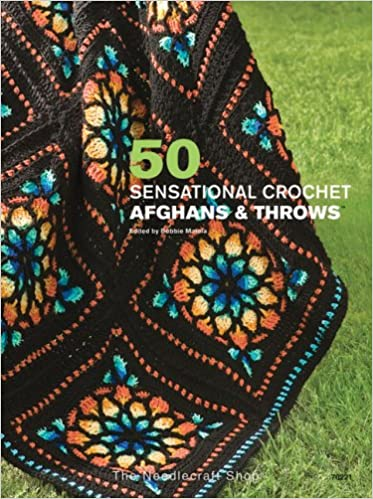 50 Sensational Crochet Afghans Throws Bobbie Frits 9781573672788