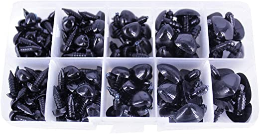 Safety Eyes Assorted Sizes Black Safety Eyes | 272x522
