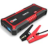GOOLOO Upgraded 2000A Peak SuperSafe Car Jump Starter with USB Quick Charge 3.0 (Up to 10L Gas or 7L Diesel Engine) 12V Auto