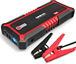 GOOLOO Upgraded 2000A Peak SuperSafe Car Jump Starter with USB Quick