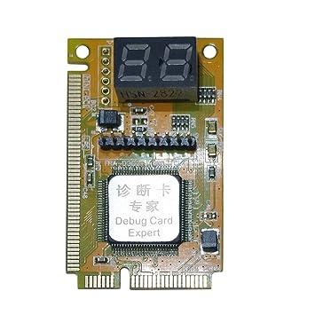 Plástico/Metal 5 x 3 x 1 cm Alta Estabilidad 3 en 1 Mini PCI ...