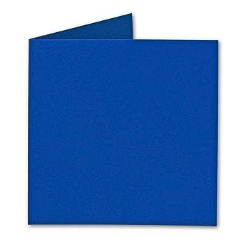 Qualit/ätsmarke: FarbenFroh/® von Gustav NEUSER/® f/ür Drucker geeignet f/ür Gru/ßkarten Quadratische Falt-Karten 15 x 15 cm Naturweiss 50 St/ück Einladungen /& mehr formstabil