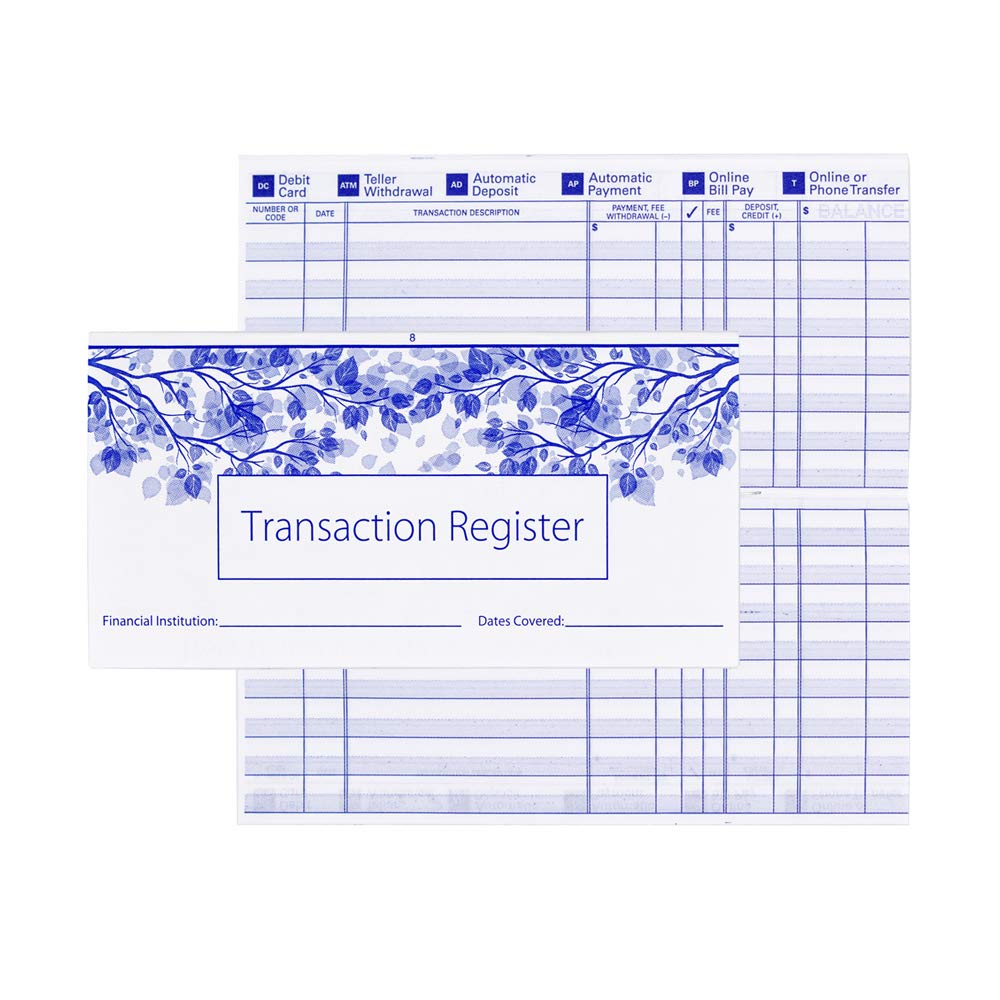 1 Box of Singles, Qty. 125 Value Price Blue Marble Top Tear Personal Checks