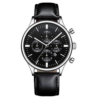 FriendGG - Reloj de Pulsera analógico de Cuarzo de Acero ...