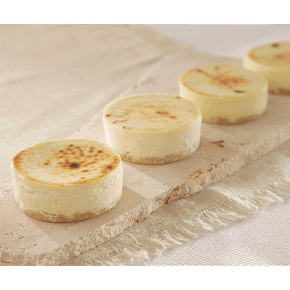 Sweet Street Vanilla Bean Individual Cheesecake -- 32 per case.