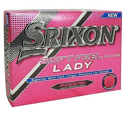 Srixon Soft Feel Lady Golf Balls (One Dozen)