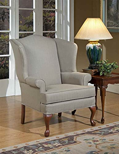 Comfort Pointe Beige Erin Wing Back Chair