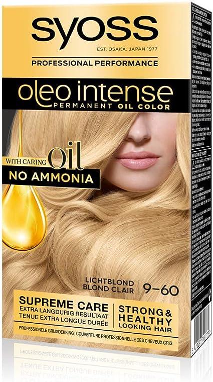 Syoss Color Oleo Intense 9-60 - Tinte para el pelo, color rubio ...