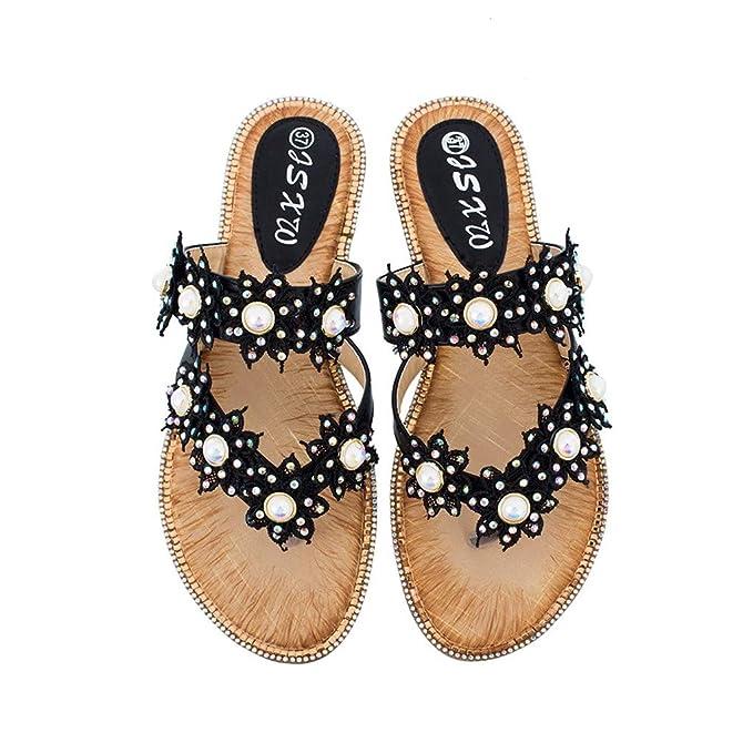 50b6a20c76be0 Amazon.com: Memela Clearance sale Women Sandals Slipper Shoes Ladies ...