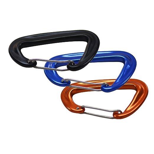 Smartbot 12KN - Pinzas para mosquetón de aluminio (límite de peso ...