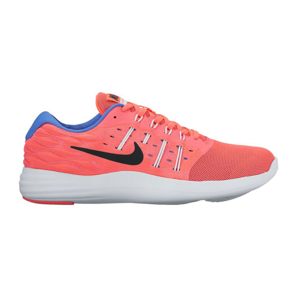 Nike WMNS Lunarstelos - hot Punch schwarz-Weiß-medium b
