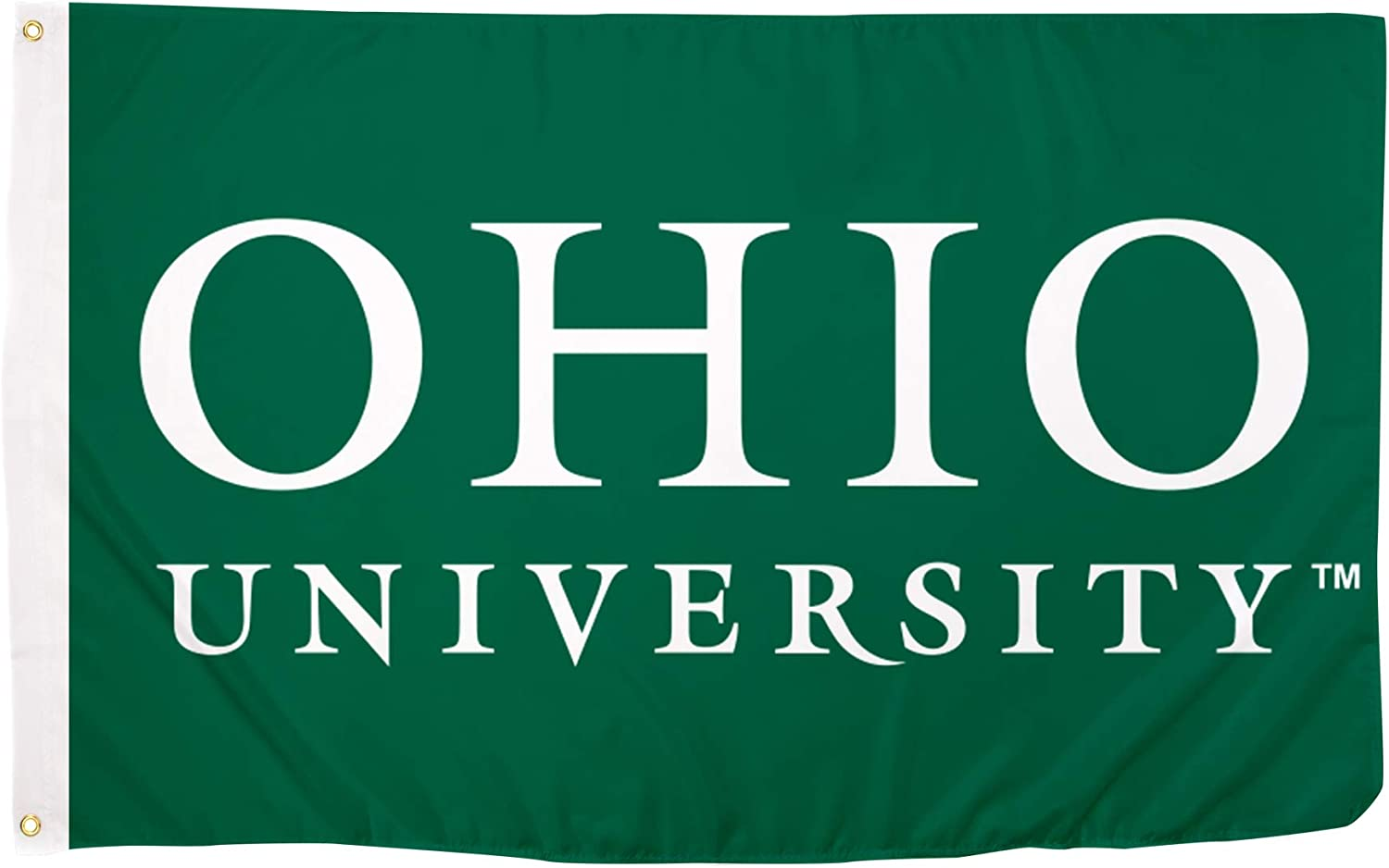 Desert Cactus Ohio University NCAA 100/% Polyester Indoor Outdoor 3 feet x 5 feet Flag Style 7a