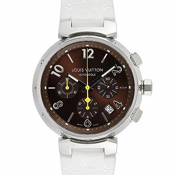 Louis Vuitton tambour chronographe Swiss-automatic montre pour homme Q1121 (certifié Pre-owned