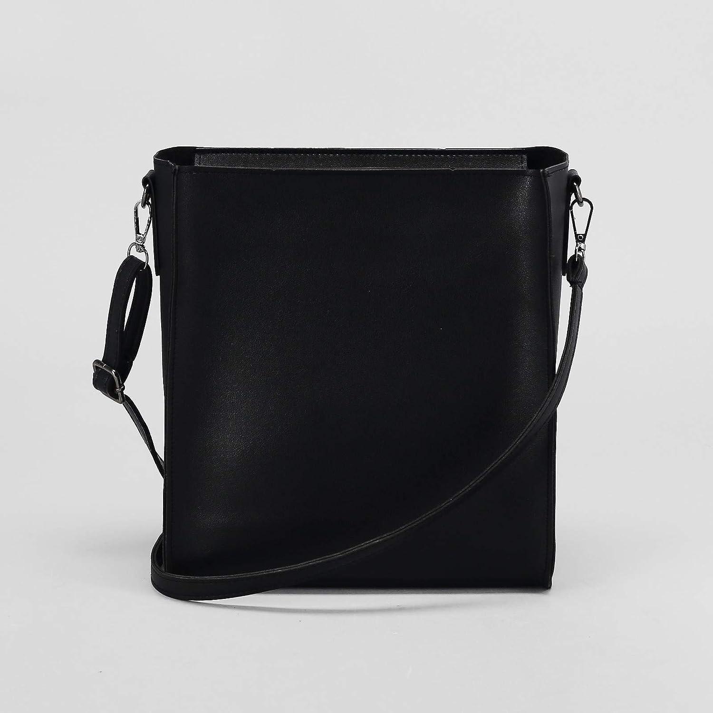 Ladies Simple Hobo Bag Light Brown Fashion Faux Leather Tote Handbag