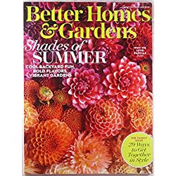 Better Homes & Gardens August 2017 Shades of Summer