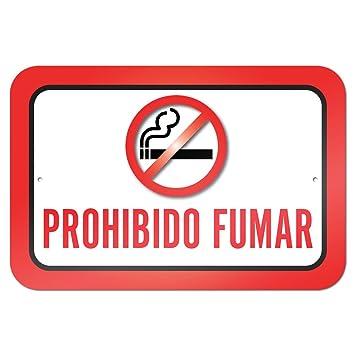 Amazon.com: Prohibido fumar no smoking Español 9