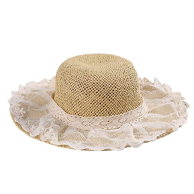 Sombrero de paja para el sol, sombrero de playa, sombrero ...
